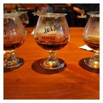 Our Jack Daniel's Single Barrel tasting samples